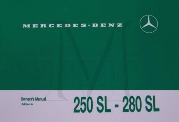 OWNERS MANUAL 250/280SL
