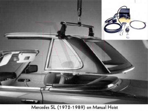 HARDTOP HOIST - ELECTRIC MOTOR